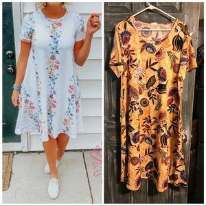 Nwt lularoe jessie dress 3x